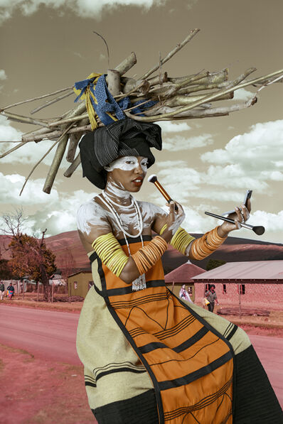 Tony Gum, 'Xhosa woman - Umfazi', 2017