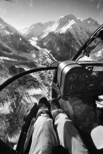 Jacques Henri Lartigue, 'St Moritz, 1980', 1980