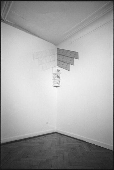 Luciano Bartolini, 'Volevo possedere quello spazio', 1977