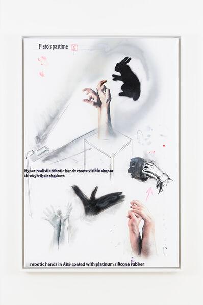 Donato Piccolo, 'Comme dessiner l'ombre d'un dessin sans ombre', 2019