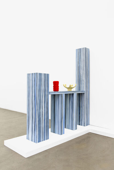 Laurent Dupont and Lucy McKenzie, 'Room Divider & 2 Prague Objects', 2015
