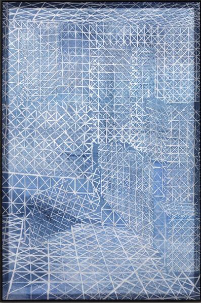 Shannon Bool, 'Wotruba Blue', 2018