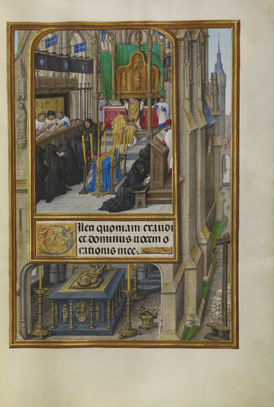 Master of James IV of Scotland, 'Office of the Dead', 1510-1520