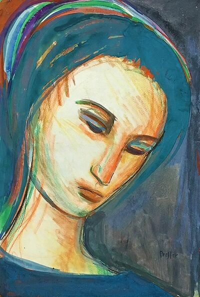 Josef Presser, 'The Young Madonna', ca. 1935