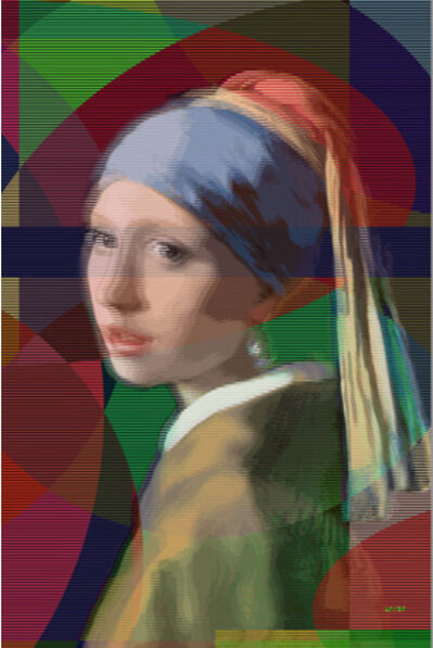 Pınar DU PRE, 'Girl with a Pearl Earring', 2019