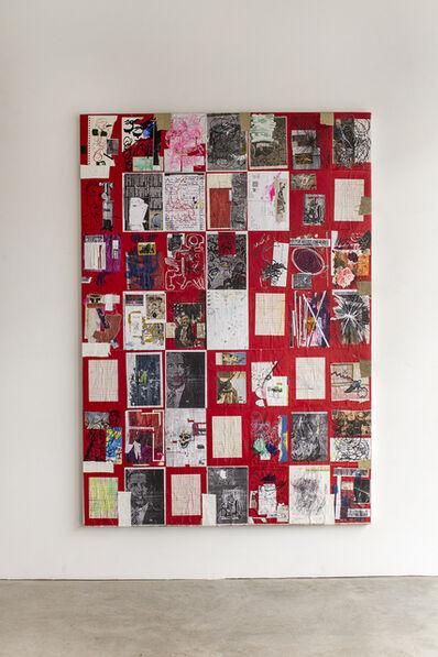 Justin Lieberman, 'Red Collage', 2015