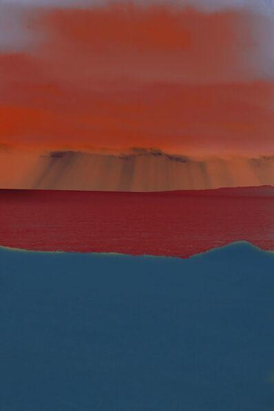 Erik Madigan Heck, 'Tri-Colour Seascape, The Garden', 2020