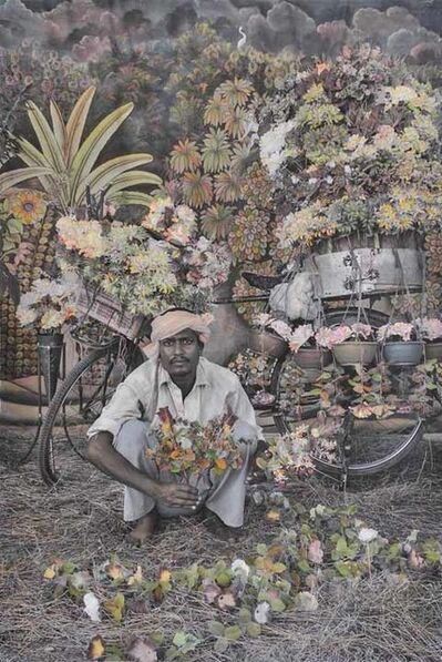 Waswo X Waswo, 'The Flower Seller', 2015