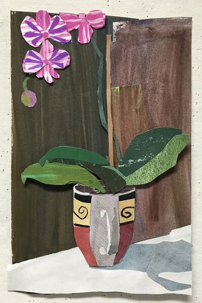 Elizabeth Bisbing, 'Orchid in Coffee Cup ', 2020