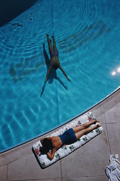 Slim Aarons, 'Swimmer and Sunbather, Tahoe (Slim Aarons Estate Edition)', 1959