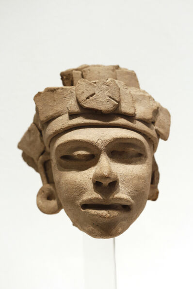Unknown Pre-Columbian, 'Veracruz Classic Mask', 600-900