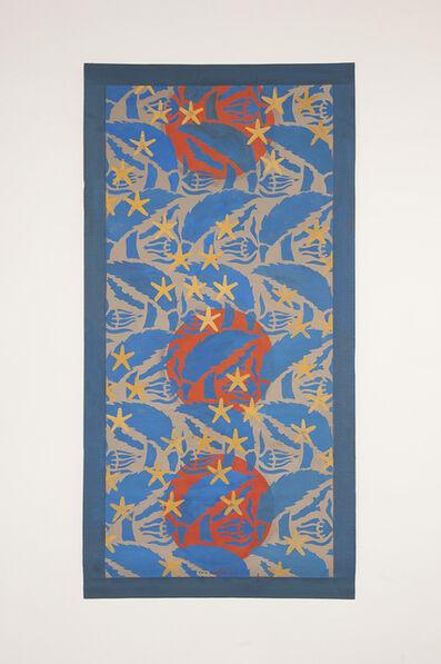 Chant Avedissian, 'P1 - Ottoman textile leaves, ancient Egyptian stars, 3 circles', 2016