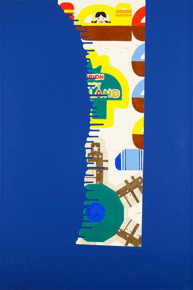 Mina Cheon, 'Dip and Drip: Klein Blue Dream Painting 16', 2017