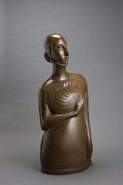 Chana Orloff, 'Dame à l'éventail', 1920