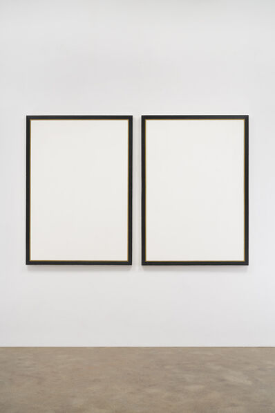 Jo Baer, 'Untitled Diptych', 1966-1968