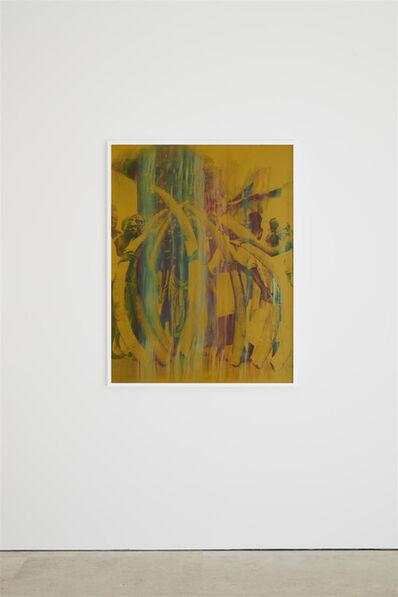Hank Willis Thomas, 'Ivory Tower (rainbow on gold)', 2019