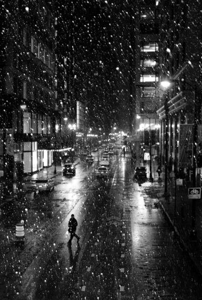 Sarah Hadley, 'Snow, Chicago', 2015