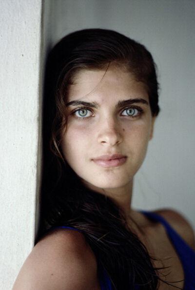 Slim Aarons, 'Kristie Karbstein Gerep, 1988: Headshot of Kristie Karbstein Gerep in Brazil', 1988