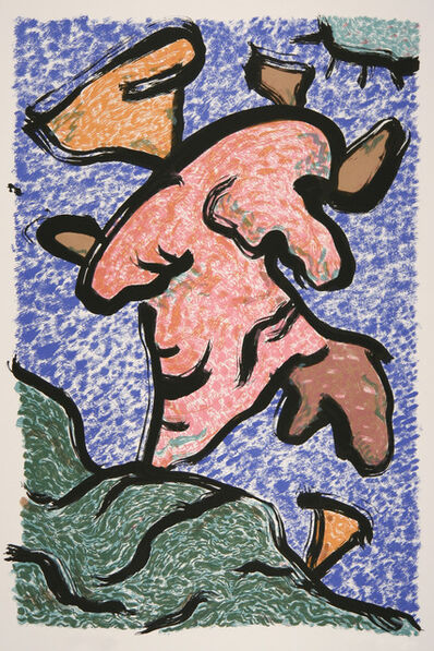 John Himmelfarb, 'Earth Dwellers/Fox Trot', 1991