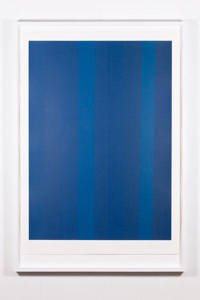 Guido Molinari, 'Quantificateur bleu', 1992