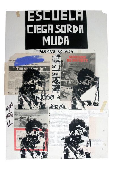 Herbert Rodríguez, 'Escuela ciega, sorda, muda', 1981-1982