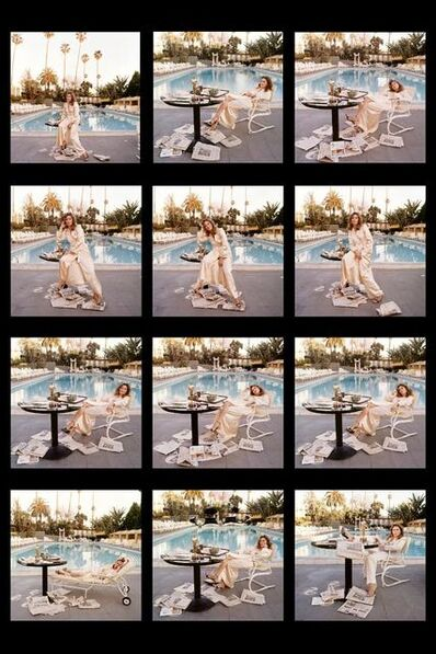Terry O'Neill, 'Faye Dunaway at the Beverly Hills Hotel ', 1977