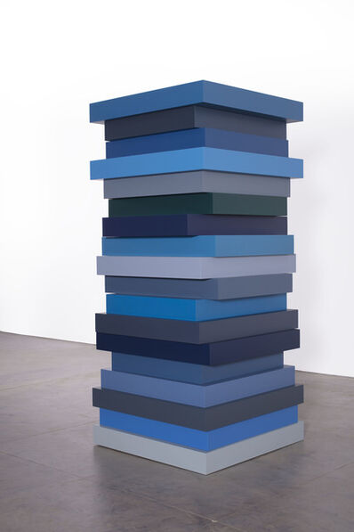 Sean Scully, 'STACK BLUES', 2018