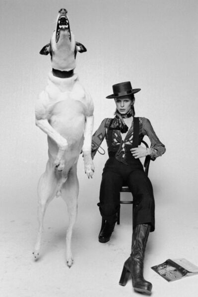 Terry O'Neill, 'David Bowie, Diamond Dogs', 1974