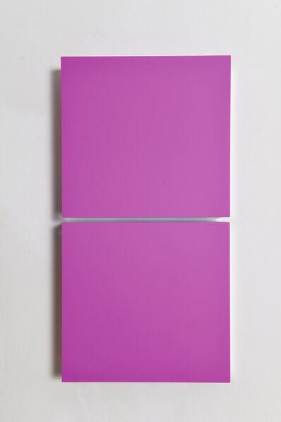 Regine Schumann, 'Colormirror grape pink Milan ', 2021