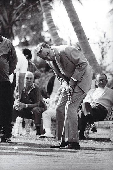 Terry O'Neill, 'Frank Sinatra Golfing', 1968