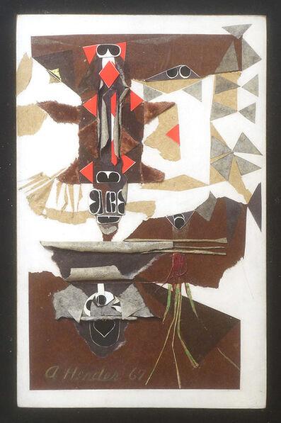 Addie Herder, 'Homage a la Musee de L'Homme', 1967-1969