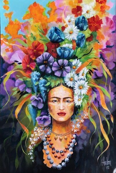 Jean Jacques Hudon, 'Frida Kahlo au Jardin II', 2018