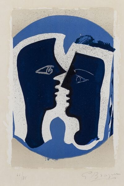 Georges Braque, 'Le Couple (Vallier 187)', 1963