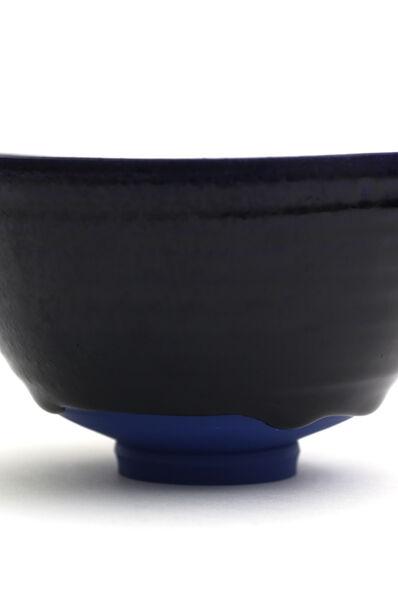 AKIO NIISATO, 'Blue tea bowl with Indigo blue glaze', 2018
