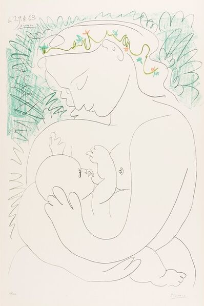 Pablo Picasso, 'Grand Maternite', 1963