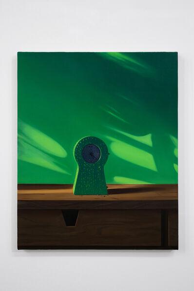 Paul Rouphail, 'GREEN CLOCK', 2019