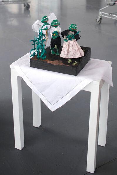 WENDY CABRERA RUBIO, 'La historia la escriben los vencedores (Frog sculpture)', 2019