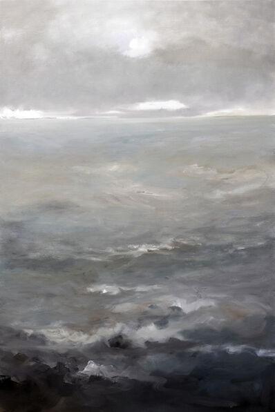 Jef Van Campen, 'De zee .... van licht naar donker', ca. 2018