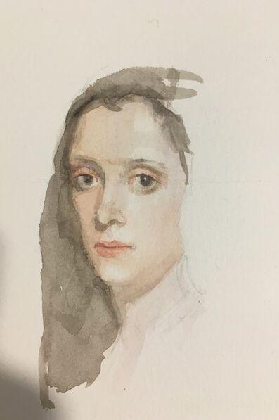 Carmen chofre García, 'Portrait of the woman with the van (after Velazquez)', 2017