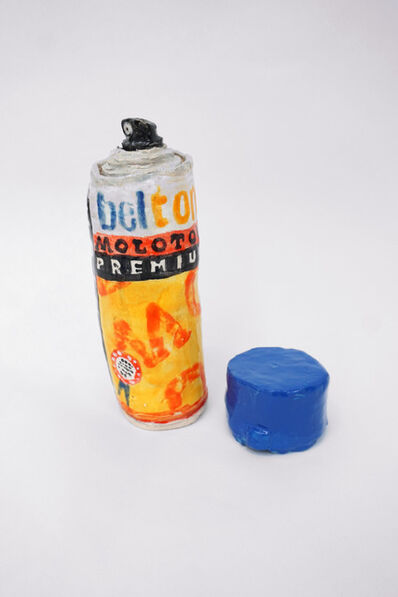 Rose Eken, 'Beltom Spray Can (Blue)', 2015
