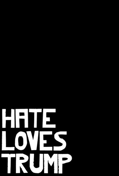 Dwayne Butcher, 'Hate Loves Trump', 2017