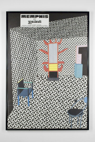 Christoph Radl, 'Memphis per Print Poster', 1983