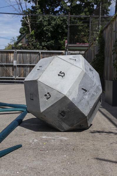 Dmitri Hertz, 'Rhombicuboctahedron (Dice)', 2019
