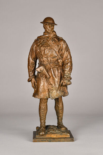 James Earle Fraser, 'Canadian Officer', 1917