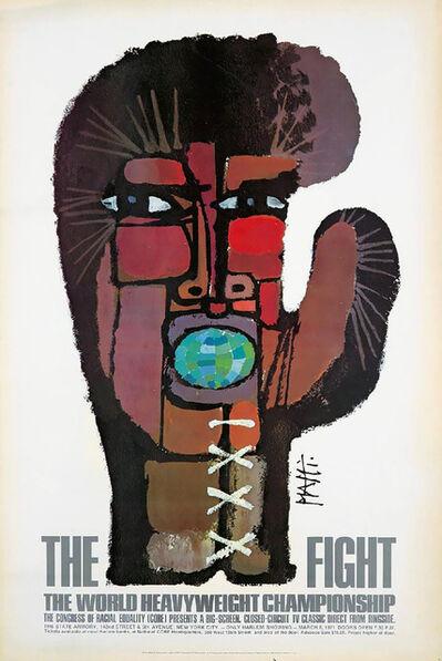 Celestino Piatti, 'Vintage Muhammad Ali, Joe Frazier Boxing poster: Celestino Piatti 'The Fight' 1971', 1971