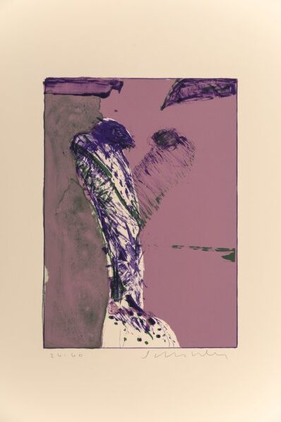 Fritz Scholder, 'Untitled (Purple and Green)'