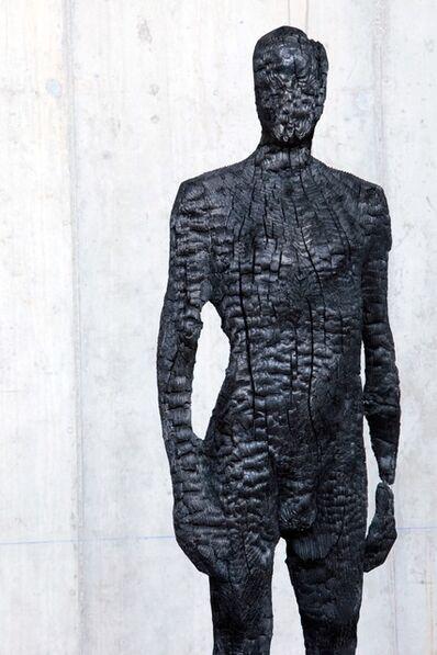 Aron Demetz, 'Burning man Bronze 1/6 '