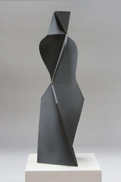 John Mason, 'Dark Grey, Pencil Skirt Girl', 2015