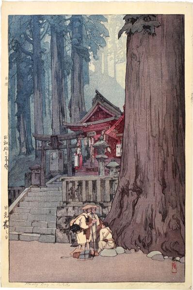 Yoshida Hiroshi, 'Misty Day in Nikko', 1937