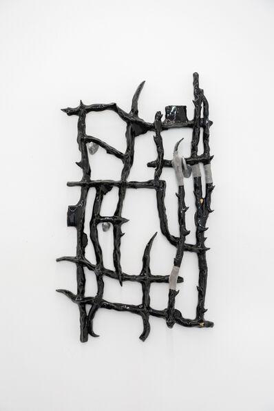Tomás Díaz Cedeño, 'Camino con varas de huizache III', 2019